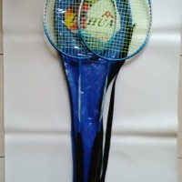 Raket Badminton Bulutangkis Fuhua isi 2 Plus Tas