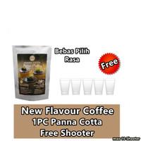 [FIRST DEALS]1PC Omura Dessert Panna Cotta + 5PC NEW SHOOTER-FS