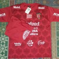 Kaos Baju Bola Jersey Setelan Anak Bali United Home Terbaru 2019