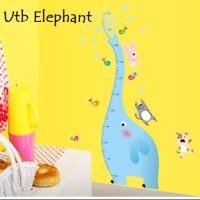 Wall Sticker 60x90 Elephant - Wallsticker Gambar Stiker Dinding