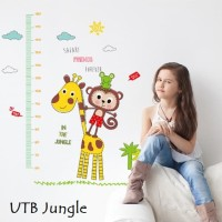 Wall Sticker 60x90 UTB Jungle - Wallsticker Gambar Stiker Dinding