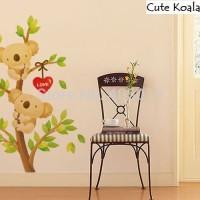 Wall Sticker 60x90 Cute Koala - Wallsticker Gambar Stiker Dinding