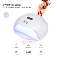 SUN X 54W UV Lamp Gel Nail Lamp / LED Pengering Kutek Gel Nail #911
