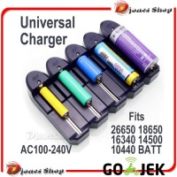 Charger Baterai Universal 1 Slot PROMO