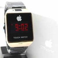 Jam Tangan Wanita / Iphone HC-709 + Box Ekslusive + Batre - HITAM ROSE