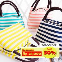 Lunch Bag/ Tas Bekal Candy Color LIne