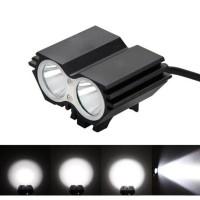 Lampu Sepeda Owl X2 LED CREE XML-T6 7000 Lumens - USB Power - Black