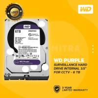 "WD Caviar Purple 6TB - HDD Hardisk Internal 3.5"" for CCTV Surveillance"