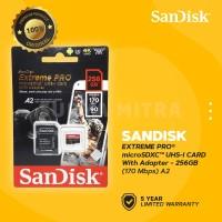 Sandisk MicroSD / Micro SD 256Gb U3 V30 EXTREME PRO 170 MB/s
