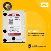 "WD Caviar Red 4TB - HD / HDD / Harddisk Internal 3.5"" For NAS"