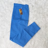 Harga baru celana katun stretch denis cotton pants panjang biru | antitipu.com