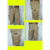 Tactical emerson short pants khaki ripstop/celana pendek emerson khaki