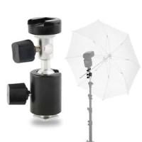 C Type 360 Swivel Flash Shoe Umbrella Holder