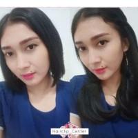Hair Clip 40 cm / hairclip 40cm - Cokelat Muda