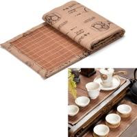 New Stylish Bambu Teh Ware Mat Tea Tray Piala Mat Coaster Kungfu Tea