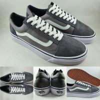 Dijual Sepatu Kets Vans Old Skool Classics Dark Grey Abu Limited