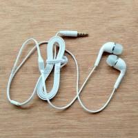 Super Bass Stereo Headset Earphone Handsfree Lenovo Putih Original