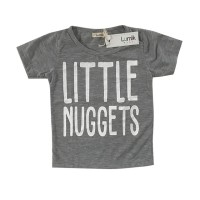 Little Nuggets Grey Tee Special Store