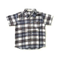 Blue Square Baby Shirt