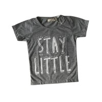 Stay Little Grey Tee Special Store