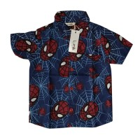 Blue Spidy Baby Shirt