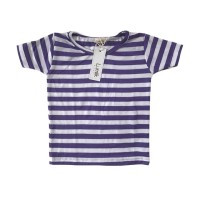 Purple Stripes Tee