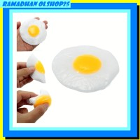 Squishy Sunny Side Up Egg Squeeze Stretch Prank Gift Fun Decor Toy