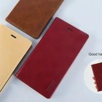 Oppo A7 Original Bluemoon Flip Cover Goodspery Mercury Dompet Kulit