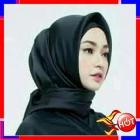 Hijab Segi Empat JILBAB SATIN SEGIEMPAT VELVET DIAN PELANGI