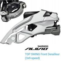 Shimano Alivio FD-T4000-TS Top Swing Front Derailleur 9 Speed