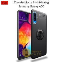 Case Samsung Galaxy A50 Autofocus Invisible Iring Soft Case