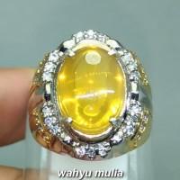 Harga cincin batu akik fire opal kuning extra joss wonogiri asli kode 1254 | Pembandingharga.com