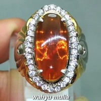 Harga cincin batu fire opal madu wonogiri asli kode 1253 | Pembandingharga.com