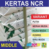 Kertas NCR Multi Copy - Middle Sheet