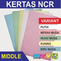 Kertas Nota NCR Multi Copy - Middle Sheet - ECERAN