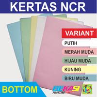 Kertas Nota NCR Multi Copy - Bottom Sheet - ECERAN