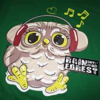 kaos owl - kaos burung hantu - kaos distro - kaos polos
