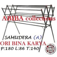 JEMURAN BAJU STAINLESS STEEL SAMUDERA 180 ORI BINA KARYA