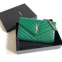 bf295d3f7b TAS YVES SAINT LAURENT ORIGINAL - YSL WOC GREEN BRILLIANT GRASS SHW c