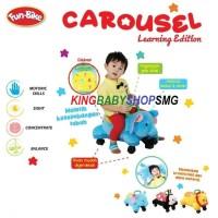 Fun Bike Carousel Mainan Dorongan Bayi 2 Tahun+
