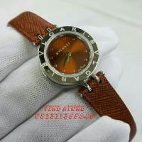 Jam Tangan Wanita / Cewek Bvlgari Brown Silver Grade Premium AAA