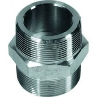 1 1/2 inch double neple stainless 304 class 3000
