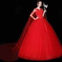 FREE JAS MD 63 Gaun Baju Pengantin Wedding Gown Dress Mermaid Import