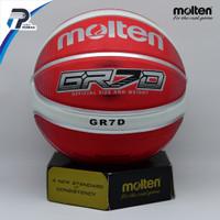 Bola Basket Molten GR7D Red ( Outdoor )