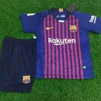 f6371c334 Jersey Kaos Baju Bola Anak Kids Barca Barcelona Home Grade Ori