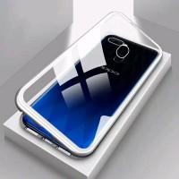 Oppo Realme 2 Pro 2Pro Realme2 Luxury Magnetic Case Glass Back Cover