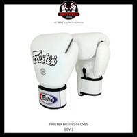 Sarung Tinju FAIRTEX 12 OZ - WHITE