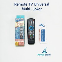 Remot / Remote TV LED / LCD / Tabung Joker - Multi.