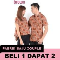 Harga dress couple batik melati turtle baju kapel kemeja etnik | antitipu.com
