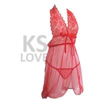 Lingerie Baju Tidur Dress Sexy Babydoll Seksi warna hitam putih merah